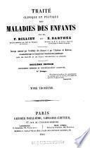 Traité clinique et pratique des maladies des enfants v. 3