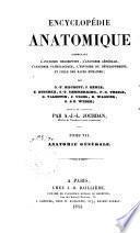 Traité d'anatomie générale ou histoire des tissus et de la composition chimique du corp humain