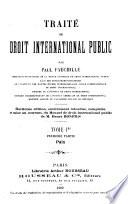 Traité de droit international public