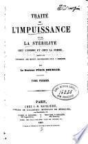 Traité de l'impuissance et de la stérilité v. 1-2