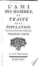Traité de la population