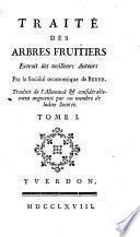 Traité des arbres fruitiers