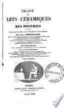 Traité des arts céramiques ou des poteries