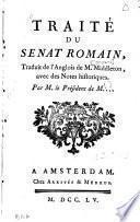Traité du Sénat romain