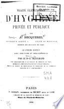 Traité élémentaire d'hygiène privée et publique