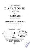 Traité général d'anatomie comparée