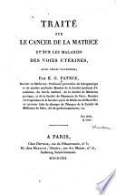 Traité sur le cancer de la matrice
