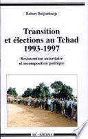 Transition et élections au Tchad, 1993-1997