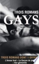 Trois romans gays