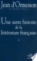 Une Autre histoire de la littérature -