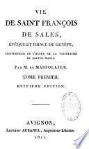 Vie de saint François de Sales, évêque et prince de Genève