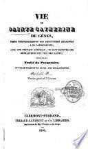 Vie de Sainte Catherine de Gênes