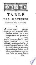 Vie des empereurs Tite-Antonin & Marc-Aurele