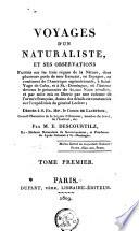 Voyage d'un naturaliste ...
