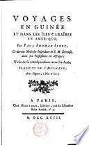 Voyages en Guinée et dans le îles Caraîbes en Amérique