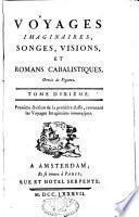 Voyages imaginaires, songes, visions et romans cabalistiques